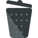 miscellaneous, Trash, interface, Basket, Bin, Garbage, Can, Tools And Utensils DarkSlateGray icon