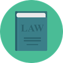 justice, Bible, Oath, Book, education, law, gavel CadetBlue icon