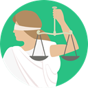 miscellaneous, law, judge, Balance, justice, Blind, laws, Justice Scale MediumSeaGreen icon