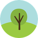 gardening, ecology, yard, Botanical, Tree, nature, garden YellowGreen icon