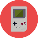 Multimedia, Device, gaming, technology, electronic, portable, leisure, gamer, Game Console Tomato icon