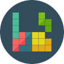 Arcade, gaming, tetris, shapes, Puzzle, video game, Rectangles DarkSlateGray icon