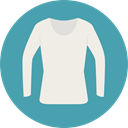 Shirt, Clothes, clothing, fashion, Garment CadetBlue icon