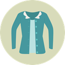Shirt, Clothes, clothing, fashion, Garment Icon