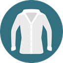 Shirt, Clothes, clothing, fashion, Masculine, Garment SeaGreen icon