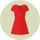 Femenine, Garment, clothing, dress, fashion, Elegant, Clothes LightGray icon