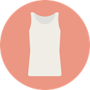Shirt, Clothes, style, fashion, Femenine DarkSalmon icon