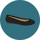 shoe, shoes, fashion, footwear SeaGreen icon