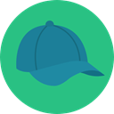 Cap, clothing, hats, fashion, textile, Baseball Hat, Baseball Cap MediumSeaGreen icon