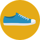 sneaker, fashion, Trainers, footwear, sports Goldenrod icon