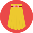 Clothes, fashion, skirt, Femenine, Garment Tomato icon