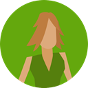 user, woman, profile, Avatar, Social OliveDrab icon