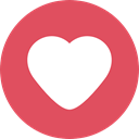 shapes, Peace, lover, Heart, interface, Like, loving, Valentines Day, Love And Romance IndianRed icon