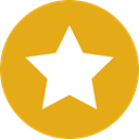 star, Favorite, Favourite, interface, rate, shapes, signs, Shapes And Symbols Goldenrod icon