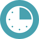 watch, tool, square, Tools And Utensils, Time And Date, Clock, time CadetBlue icon