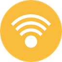 internet, Wifi, wireless, interface, Multimedia, Computer, Connection, ui, technology, signs SandyBrown icon