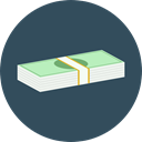 Notes, Business, Money, Cash, Currency, Business And Finance DarkSlateGray icon
