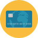 commerce, pay, Credit card, Debit card, payment method, Business And Finance SandyBrown icon