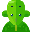 robot, technology, electronics, robotics, Science Fiction, Futurist LimeGreen icon