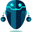 robot, technology, electronics, robotics, Science Fiction, Futurist MidnightBlue icon