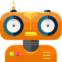 robot, technology, electronics, robotics, Science Fiction, Futurist Chocolate icon