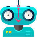 robot, technology, electronics, robotics, Science Fiction, Futurist DarkTurquoise icon