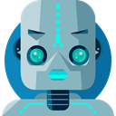 robot, technology, electronics, robotics, Science Fiction, Futurist DarkGray icon