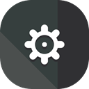 configuration, ui, cogwheel, Tools And Utensils, Gear, settings DarkSlateGray icon