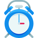 Clock, time, timer, alarm clock, Tools And Utensils, Time And Date DodgerBlue icon