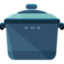 food, fire, Cook, pot, hot, Cooking, Stew, Furniture And Household DarkSlateGray icon