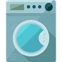 Furniture And Household, Clean, cleaning, wash, washing, washing machine, Housekeeping, Electrical Appliance CadetBlue icon