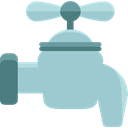 tap, water, Faucet, Droplet, Water Tap, Furniture And Household LightSteelBlue icon