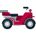 Motorcycle, Scooter, transportation, transport, Motorbike, Vespa Black icon