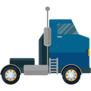 vehicle, Automobile, Delivery Truck, Cargo Truck, Delivery, transportation, truck, transport Black icon