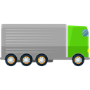 Lorry, transportation, truck, transport, Automobile, Delivery Truck, Cargo Truck, Shipping And Delivery Black icon