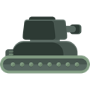 transportation, transport, war, Military, Army, Tank, weapons, Tanks DarkSlateGray icon