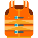 miscellaneous, vest, Lifesaver, Lifejacket OrangeRed icon