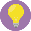 Light bulb, Idea, electricity, illumination, technology, invention, Seo And Web RosyBrown icon