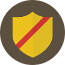 shield, defense, secure, security, Antivirus DarkOliveGreen icon