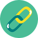 Chain, linked, Tools And Utensils, Seo And Web, Multimedia, Connection, Link CadetBlue icon