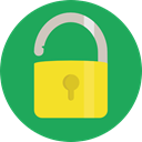 Lock, secure, security, padlock, Unlocked, Tools And Utensils, Open Padlock SeaGreen icon