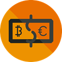 Business, Money, coin, Cash, Currency, exchange, Business And Finance DarkOrange icon