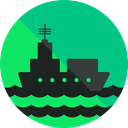 Cruise, Yacht, Ships, travel, Boat, transport, ship SpringGreen icon