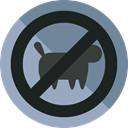 Airport, Animals, dogs, Signaling, No Pets LightSlateGray icon