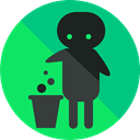 Trash, recycle, junk, recycling, signs, instructions, Signaling, Humanpictos SpringGreen icon