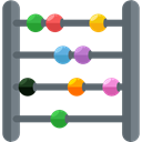 mathematical, maths, Calculating, Kid And Baby, mathematics, calculator, Abacus, Toy, baby, children DimGray icon