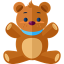 Animal, bear, Animals, children, teddy bear, childhood, puppet, Fluffy, Kid And Baby Chocolate icon