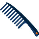 Beauty Salon, Beauty, Comb, fashion, Grooming Black icon