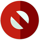 signs, Signaling, forbidden, shapes, symbol, prohibition, cancel Firebrick icon