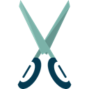 Cut, scissors, miscellaneous, Cutting, Tools And Utensils, Edit Tools, Handcraft Black icon